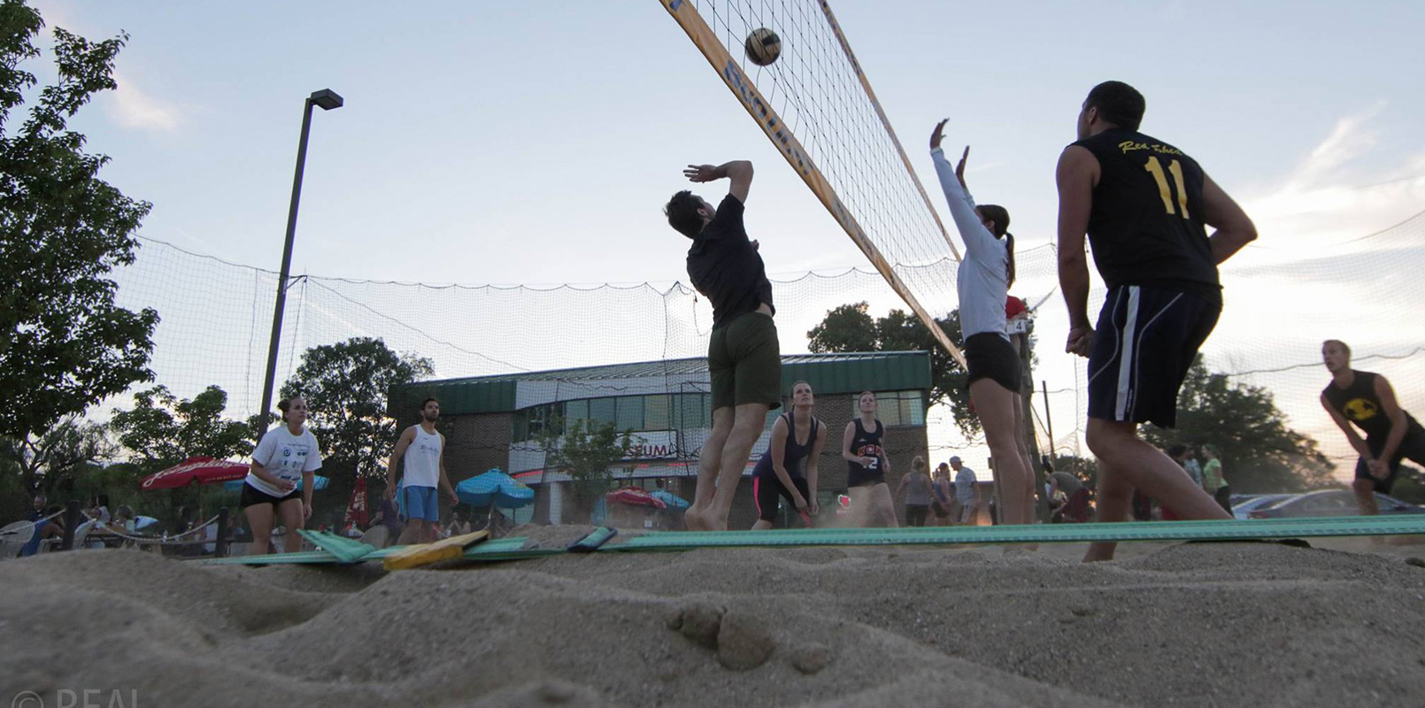 Volleyball at the Coliseum Bar