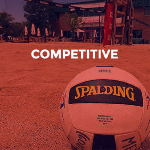 Competitive Volleyball League at the Coliseum Bar
